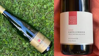 Exklusiva lanseringar - Trimbach Cuvée Frédéric Emile 2013 och Bickel-Stumpf Kapellenberg Silvaner 2020