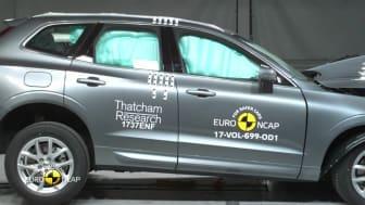 Volvo XC60 crash test montage