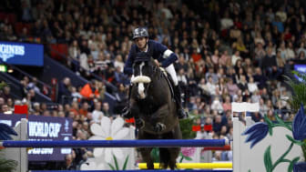 Steve Guerdat and Alamo wins the FEI Longines Jumping World Cup™. Photo: Anna-Lena Lundqvist