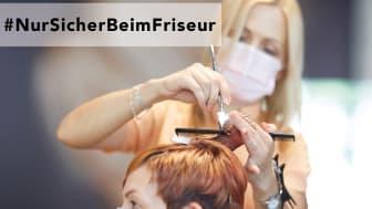 Kampagnen-Visual #NurSicherBeimFriseur: (c)Steinhoff Haardesign/Fotograf Ralph Koch