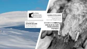 Fotograf Björn Dahlfors ställer ut dubbelt i Nora