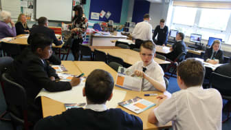 S3 Students at Springburn Academy get to grips with the Money Wise Programme
