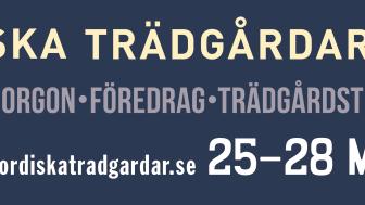 Trädgårdsmässan Nordiska Trädgårdar digital (25-28 mars)