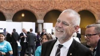 Einar Schuch, regiondirektör Trafikverket Öst och vice ordförande i Godstransportrådet.