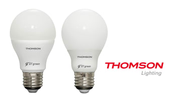 """Thomson Lighting unveils technological revolution with new LED """"GT-Green"""" range LED Bulbs: Ecological and Efficient"""