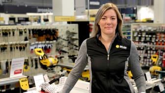 Jessica Larsson är ny Kundklubbsansvarig hos Beijer Byggmaterial.