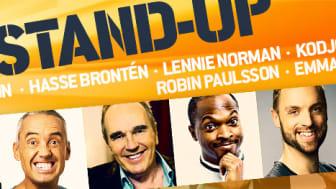 """""""K8 stand-up"""" med Kodjo Akolor, Emma Knyckare, Robin Paulsson m.fl. på Kajskjul 8 sommaren 2019!"""