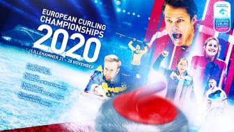 Curling EM 21 - 28 november 2020 på Lillehammer