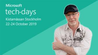 James Whittaker - Microsoft TechDays 2019