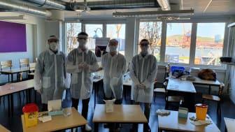 Gänget som testar för SARS-CoV-2 antikroppar i Göteborg