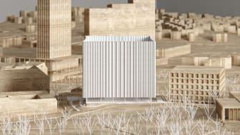 Vinnaren utsedd i projekttävling om nytt universitetsbibliotek i Göteborg