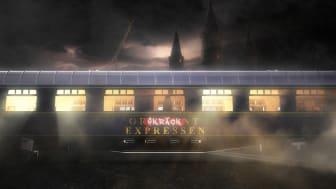Skräckexpressen - det nya spökhuset på Halloween på Furuvik