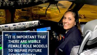 Faces of Norwegian: First Officer Tessa Naran