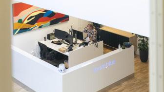 team.blues kontor i Skanderborg