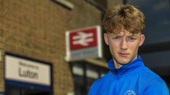Luton Town FC academy players score free rail passes