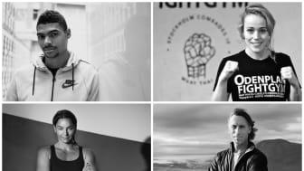 Michel Tornéus, Patricia Axling, Anna Sunneborn och Oskar Kihlborg, ambassadörer för En Frisk Generation