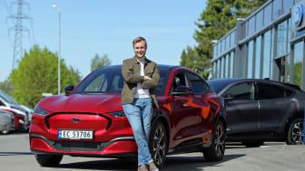 Erlend Gunstveit vant The Voice og en ny Ford Mustang Mach-E