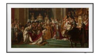 Kjente kunstverk: Nå kan du få tilgang til 40 kjente kunstverk fra Louvre-museet på din Frame TV.