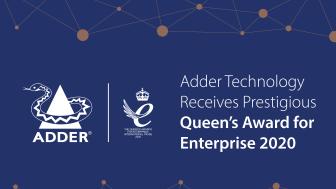 Adder Technology Receives Third Queen's Award for Enterprise