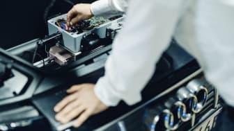 Elbiler som en del af omstillingen til bæredygtig energi (Audi e-tron)