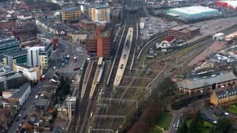Watford Junction aerial view