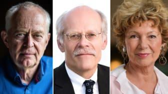Claes-Göran Wetterholm, Stefan Ingves och Amelia Adamo är gäster i vårens Nyfiken på-serie.