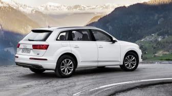 Ny Audi Q7 med ekstra effektiv dieselmotor