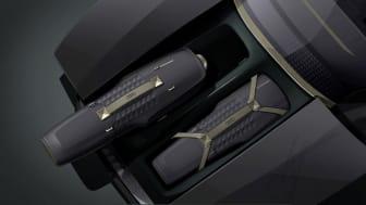 Audi skysphere med plads til to specialdesignede golftasker i frunken