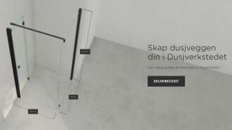 INR lanserer banebrytende digitalt verktøy for tilpasning og visualisering av dusjvegger