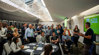 Delegates listen and share experiences at our annual Active London conference (Photo: Sept 2019)