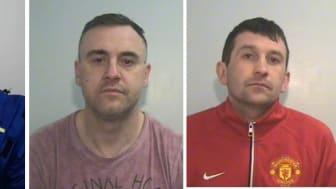 Three men jailed in £17m tobacco fraud L-R Jankowski, Zdumiak, Pawelec