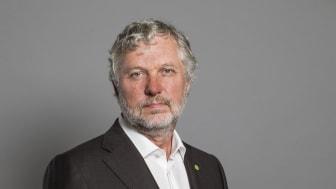 Peter Eriksson, bostads- och digitaliseringsminister.