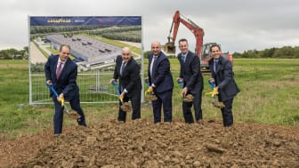 Dan Biancalana - Mayor of Dudelange, Luxembourg, Richard J. Kramer - Chairman, Chief Executive Officer and President, Goodyear, Etienne Schneider - Deputy Prime Minister and Minister of the Economy, Luxembourg, Chris Delaney - President EMEA