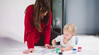 Anja Landshoeft (32) mit ihrem Sohn