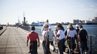 'Håndværk på Havnen' indvies af kulturministeren