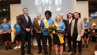 Miss und Mr. Handwerk 2018 heißen Ramona Brehm und David Kunkel. Jetzt geht der Wettbewerb in die zehnte Runde. Foto: Werbefotografie Weiss