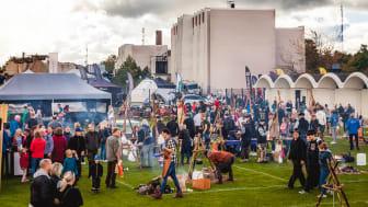 Sweden Outdoor Festival närmar sig med en ny destinationslägerplats. Foto: Mårten Bergkvist/Next Skövde
