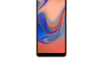 Samsung Galaxy A7_Front_Gold