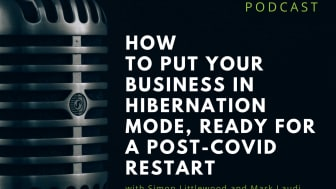 How to put your business in hibernation mode, ready for a post-Covid restart