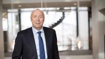 VOKSER. Kjell Rusti fastslår at Sopra Steria leverte gode 2017-resultater. Foto: Hanne Kristine Fjellheim, Sopra Steria