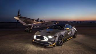 A jótékony célra épített Ford Mustang Eagle Squadron