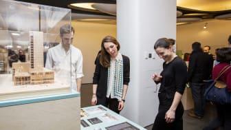 Skellefteås kommande kulturhus visas upp på Roca London Gallery