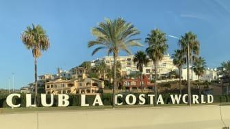 Club La Costa.  Worrying signals.