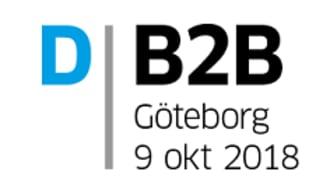 D-B2B 9 oktober i Göteborg