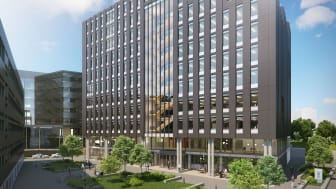 Et nytt kontorbygg vil føres opp på HasleLinje når Karvesvingen 5 AS (Höegh Eiendom og AF Eiendom) inngår totalentreprisekontrakt med AF Bygg Oslo.