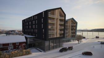 Byggstart av Quality Hotel Richard With er satt til mai 2020.