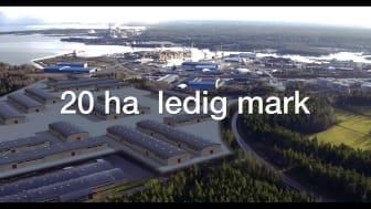 Teaser Gävle Hamn ny logistikpark