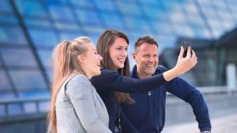 Telenor lanserer et nytt bedriftsabonnement med roll-over som gjør det enklere både for administratorer og brukere.  Foto: Martin Fjellanger
