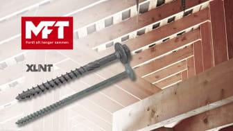MFT treskrue XLNT - premiumskrue for montasje av bærende konstruksjoner