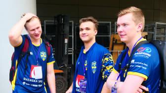 Svenska VM-landslaget i CS 2018